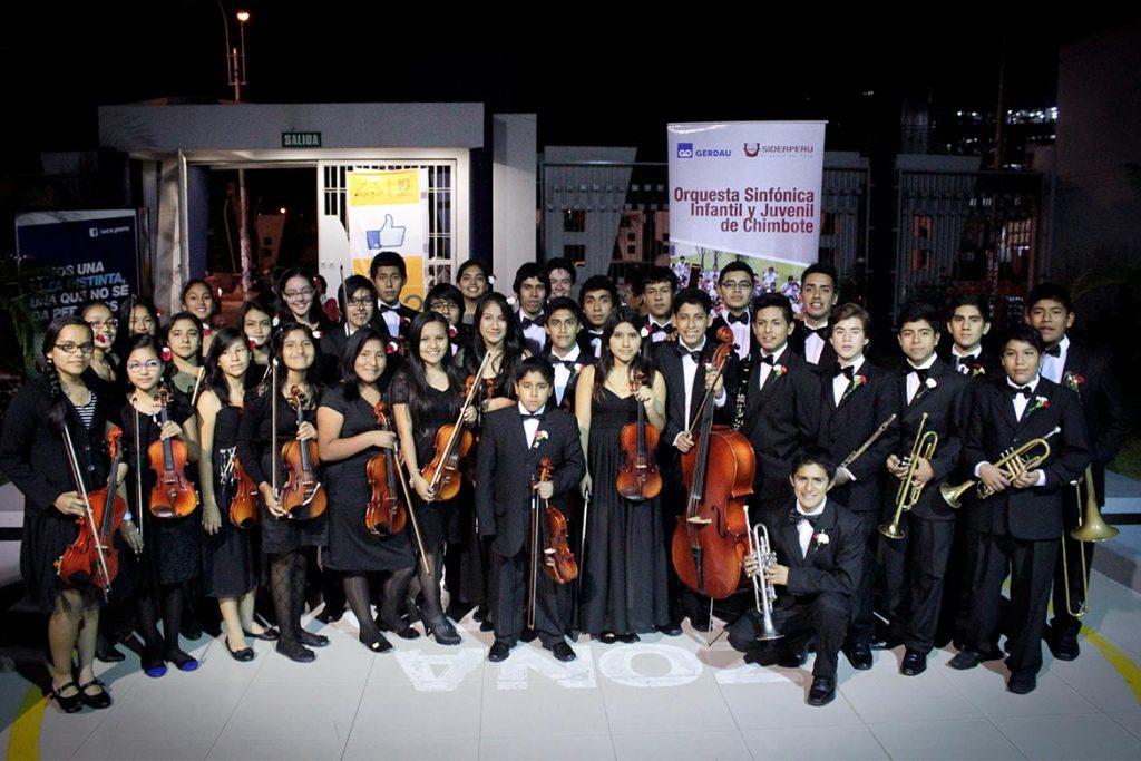 Orquesta Sinfónica Infantil Juvenil cumplió 5 años