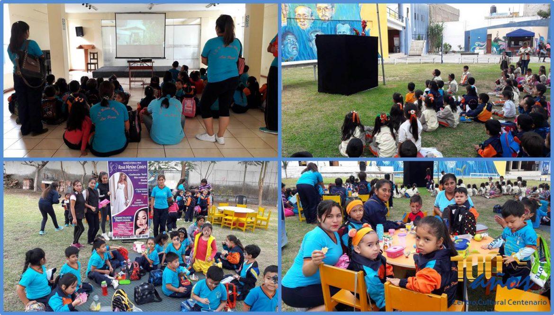 Jornada recreativa por la semana de la Educación Inicial