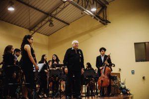 Concierto de la Orquesta Sinfónica Infantil Juvenil de Chimbote para el Club de Leones