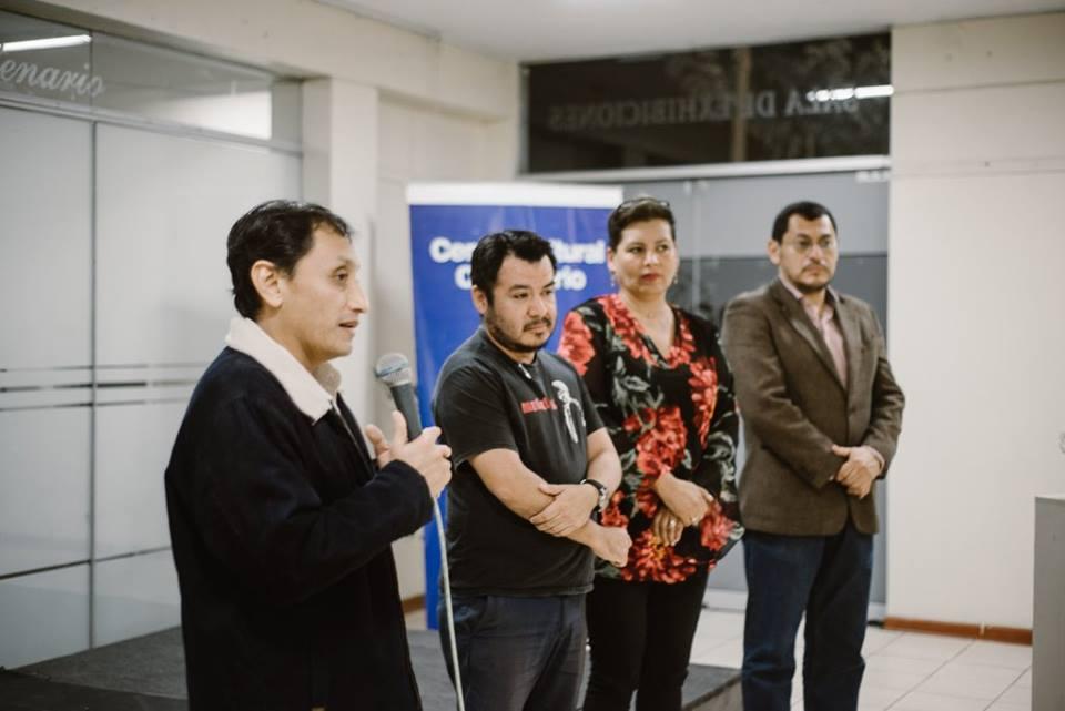 Inauguración de la exposición «CHINCHAYÁN ILUSTRACIONES»
