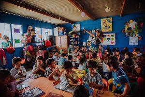 Semana de la Biblioteca Escolar: Biblioteca Itinerante