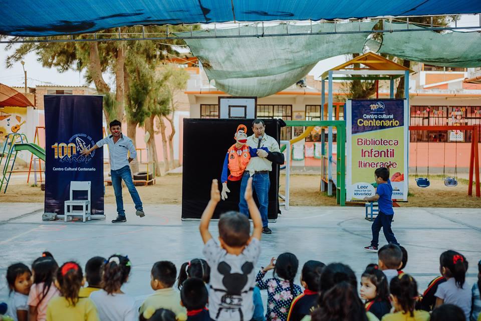 Biblioteca Itinerante: Semana del Día del Niño
