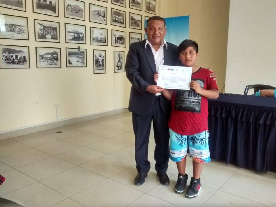 Premiación de Concurso Cuentos Verdes