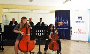 Conferencia de prensa para el lanzamiento del trabajo de la Orquesta Sinfónica Infantil Juvenil de Chimbote