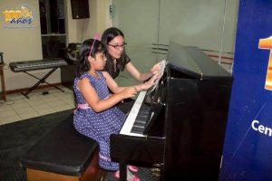 Clausura de talleres de piano y teclado