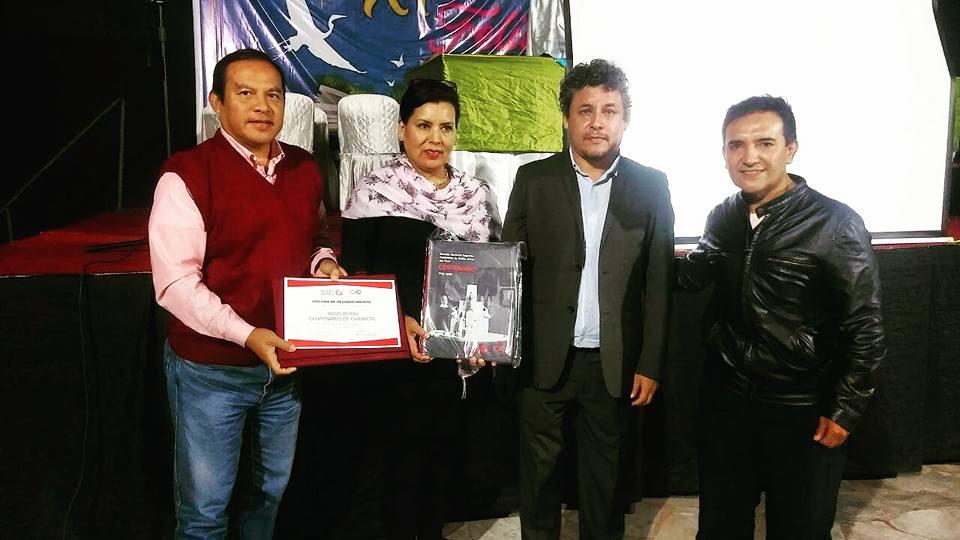 Reconocimiento al Centro Cultural Centenario por ENSABP