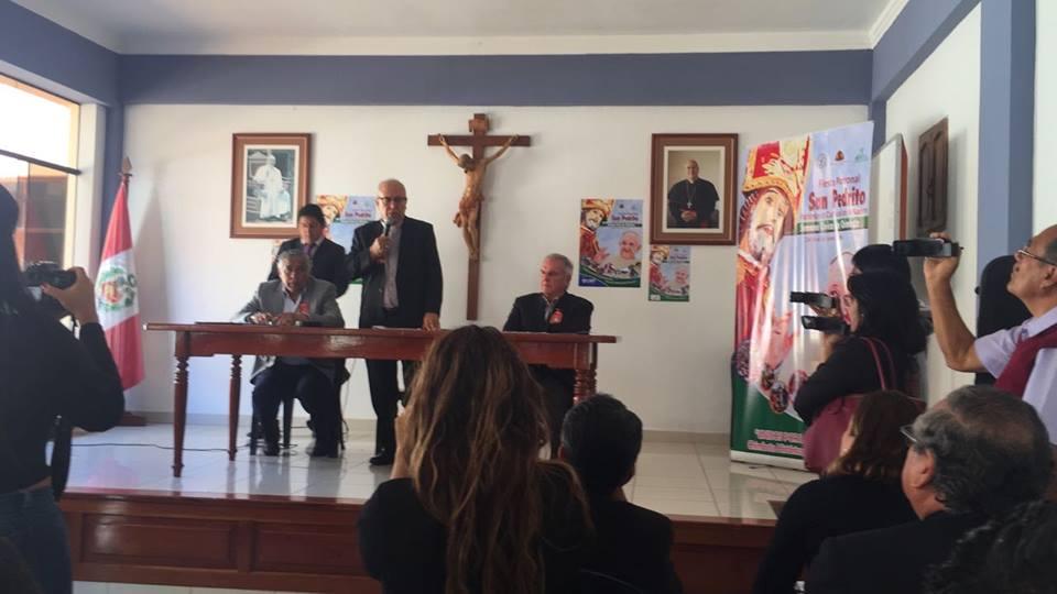 Conferencia de Prensa «San Pedrito 2018»