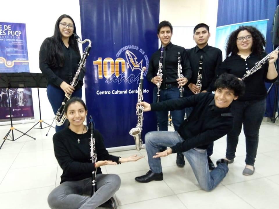 Ensamble de Clarinetes PUCP – Gira Perú norte 2018