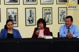 Luisa Guzmán Manrique presentó su nuevo libro