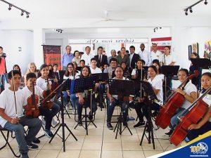 Lanzamiento de la Orquesta Sinfónica Infantil Juvenil de Chimbote OSIJCH 2019