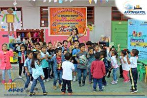 Biblioteca Itinerante visita la I.E. San Isidro