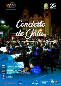 Concierto de Gala de la Orquesta Sinfónica Infantil Juvenil de Chimbote OSIJCH en Nuevo Chimbote