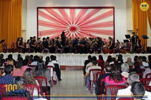 La Orquesta Sinfónica Infantil Juvenil de Chimbote OSIJCH tocó por el XXV Aniversario de Nuevo Chimbote