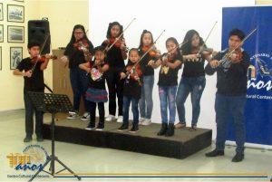 Recital de medio año del taller de violín