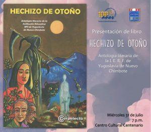 """PRESENTACIÓN DEL LIBRO """"HECHIZO DE OTOÑO"""""""