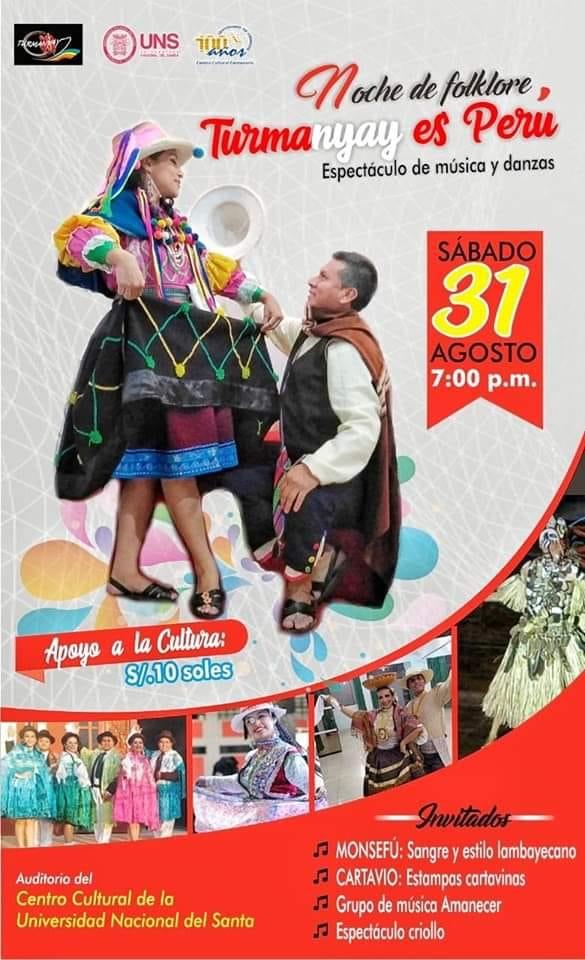 Noche de Folklore: Turmanyay es Perú