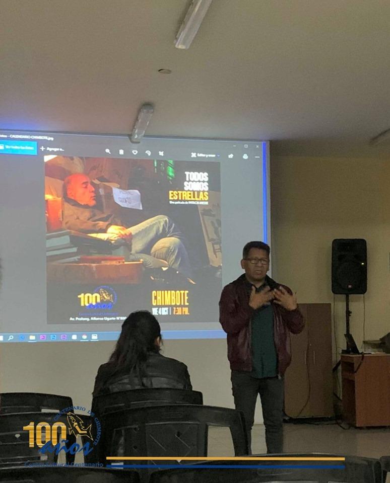 Proyección del documental: «TODOS SOMOS ESTRELLAS» en el Centro Cultural Centenario