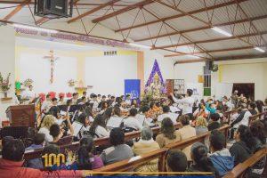 Concierto Sinfónico de la Orquesta Sinfónica Infantil Juvenil de Chimbote OSIJCH por aniversario de la Parroquia Santa Teresa de Avila
