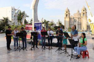 CLARIPERU y Orquesta Sinfónica Infantil Juvenil de Chimbote OSIJCH tuvieron un encuentro con la comunidad