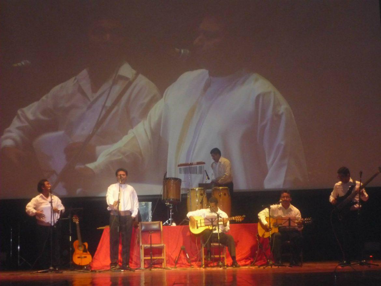 Artistas chimbotanos se unen en concierto de música folclórica latinoamericana